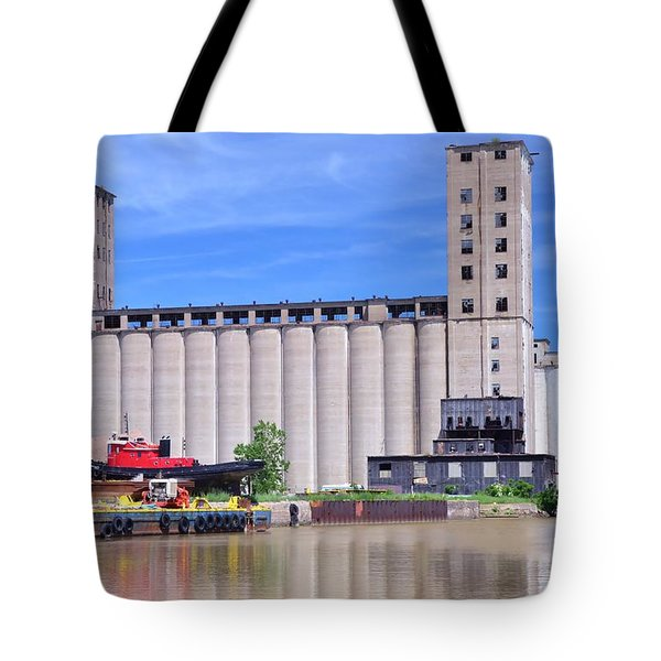 Tour Down Buffalo River Tote Bag by Kathleen Struckle