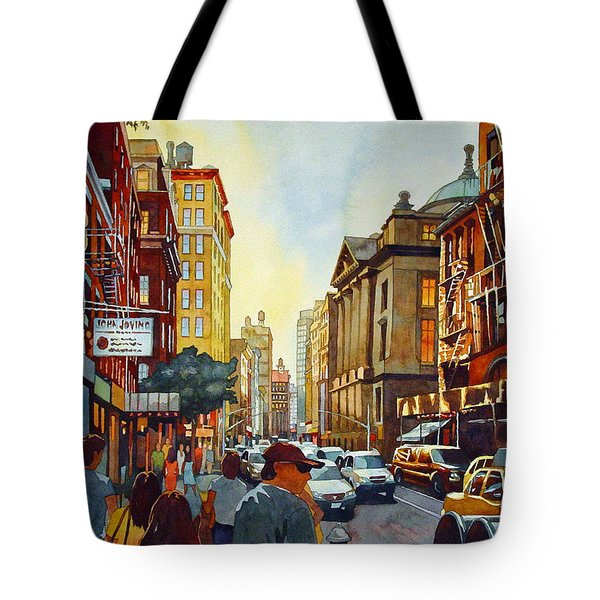Tourist Season Tote Bag