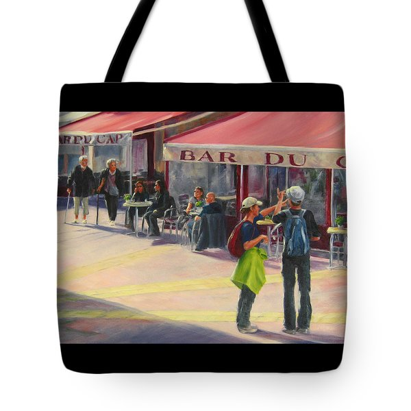Tourists Tote Bag
