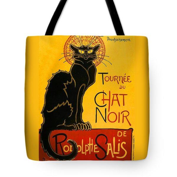 Tournee Du Chat Noir Tote Bag
