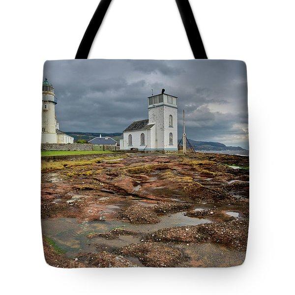 Toward Lighthouse  Tote Bag