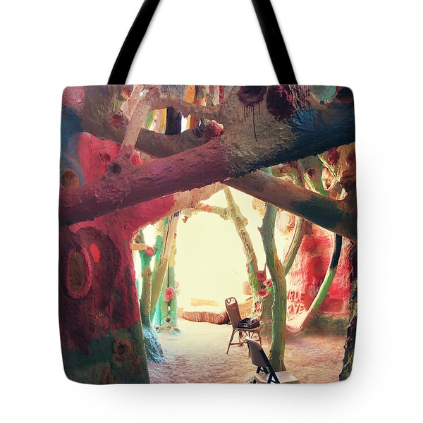 Toward The Light Tote Bag by Laurie Search
