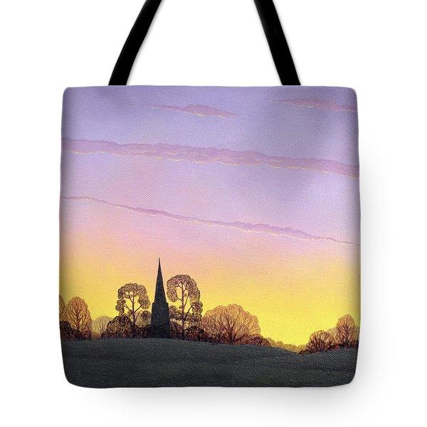 Towards Grandborough Tote Bag by Ann Brian