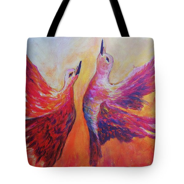 Towards Heaven Tote Bag