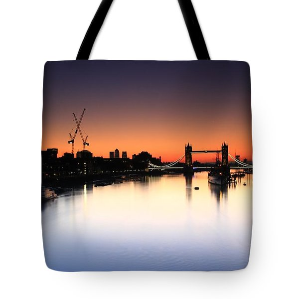 Tower Bridge 2 Tote Bag