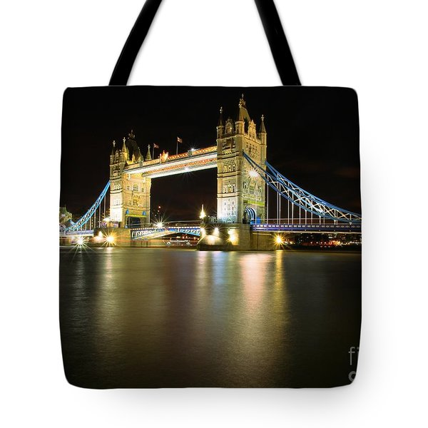 Tower Bridge London Tote Bag by Mariusz Czajkowski