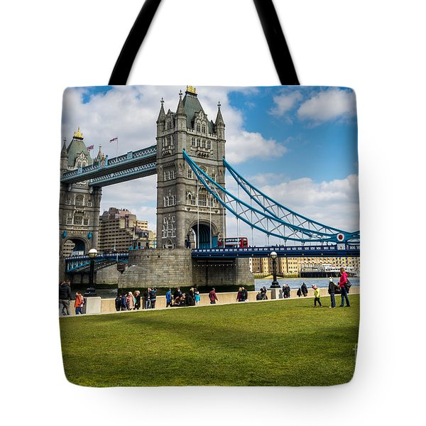 Tower Bridge Tote Bag by Matt Malloy
