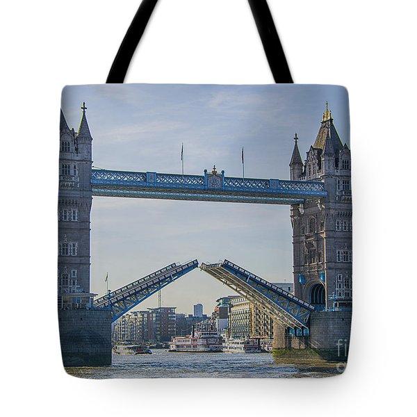 Tower Bridge Opened Tote Bag