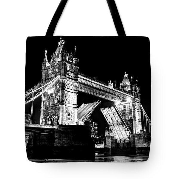 Tower Bridge Opening Tote Bag