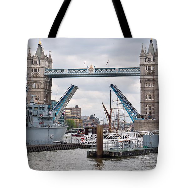 Tower Bridge Opens Tote Bag