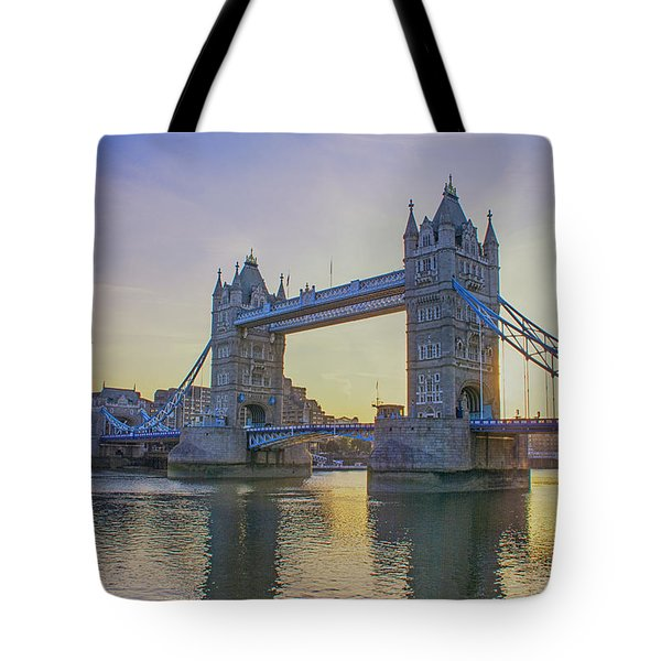 Tower Bridge Sunrise Tote Bag
