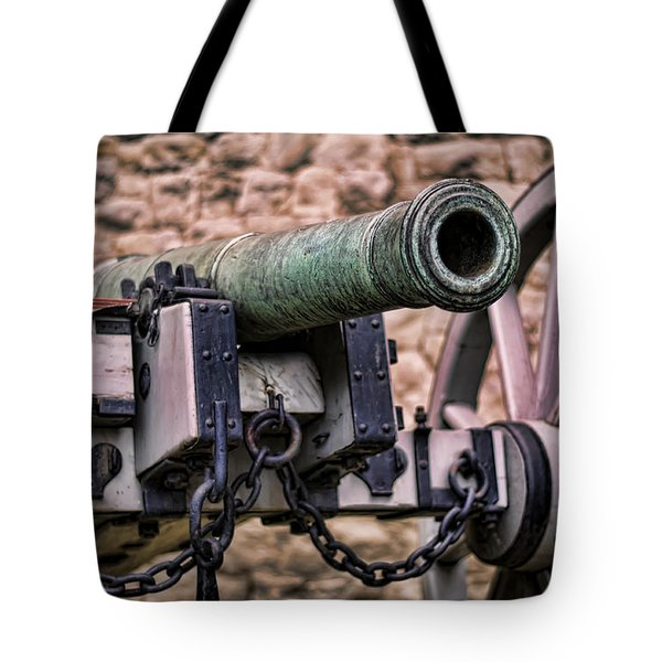 Tower Canon Tote Bag by Heather Applegate