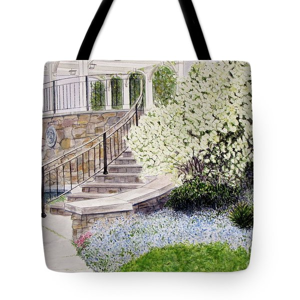 Tower Hill Blues Tote Bag