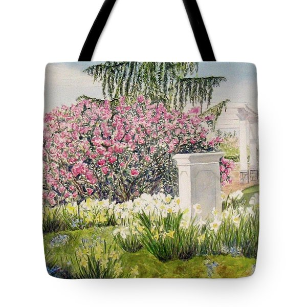 Tower Hill Center Tote Bag