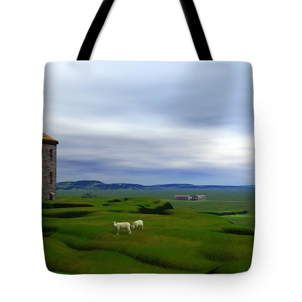 Tower Hill Tote Bag by John Pangia