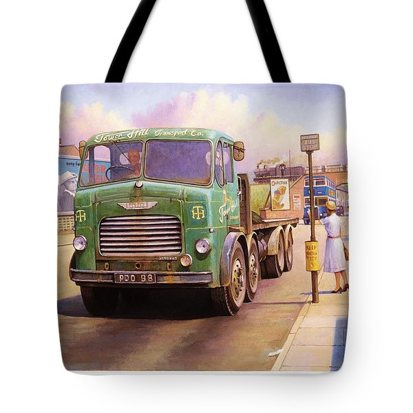 Tower Hill Transport. Tote Bag