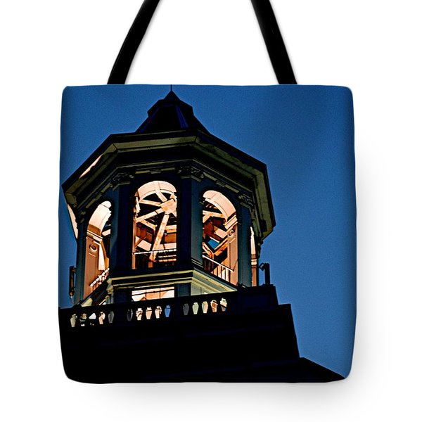 Tower Tote Bag by Joseph Yarbrough