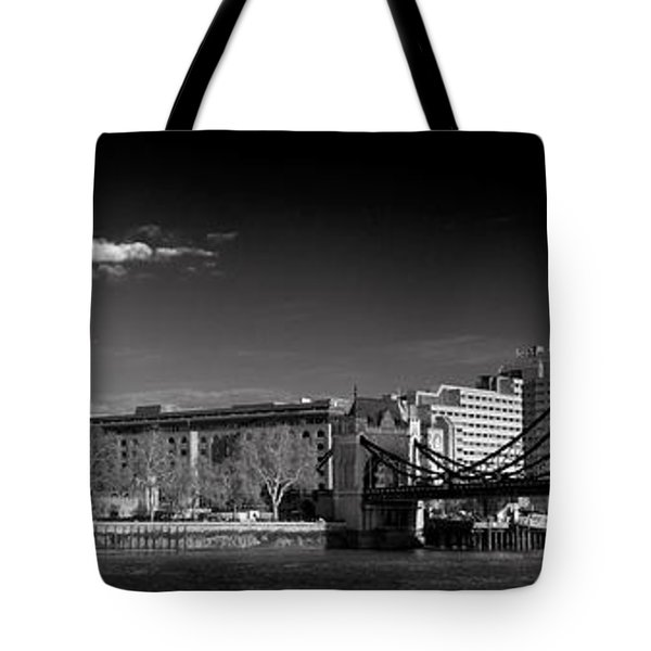 Tower Of London And Tower Bridge Tote Bag by Gary Eason