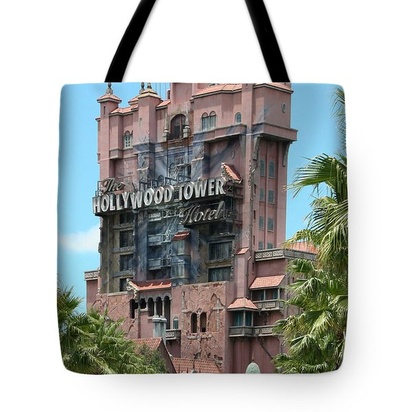 Tote Bag featuring the photograph Tower Of Terror by John Black