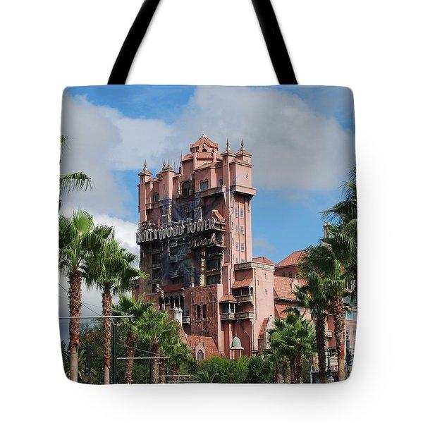 Tower Of Terror  Tote Bag