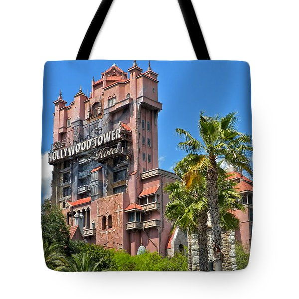 Tower Of Terror Tote Bag