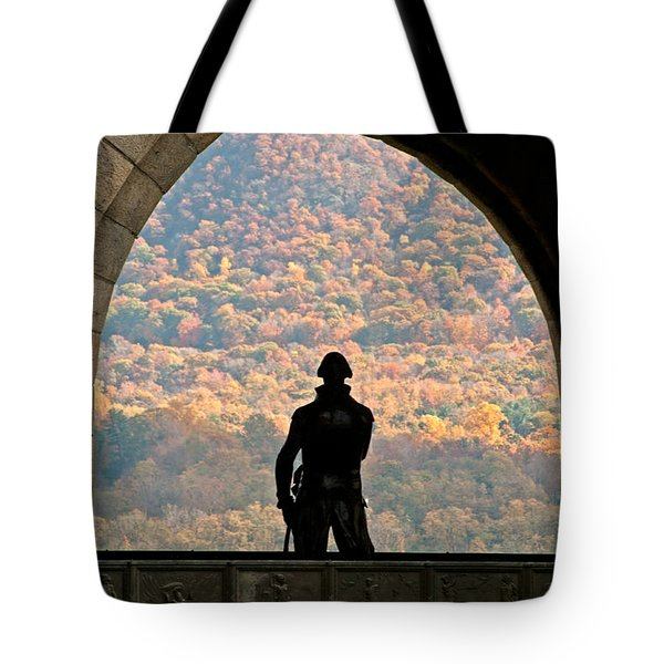 Tower Of Victory Tote Bag