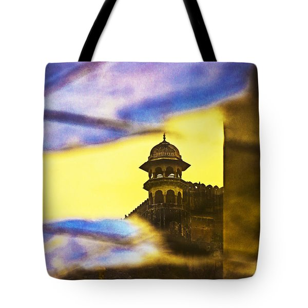 Tower Reflection Tote Bag