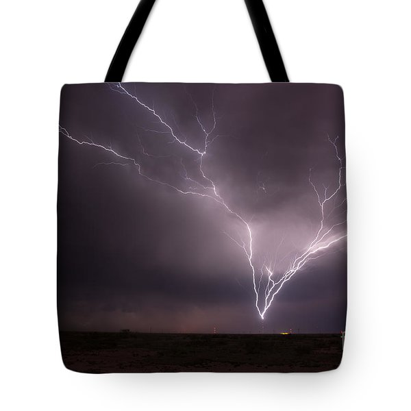 Tower Strike Tote Bag