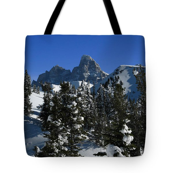 Tote Bag featuring the photograph Towering Above Lies The Grand by Raymond Salani III