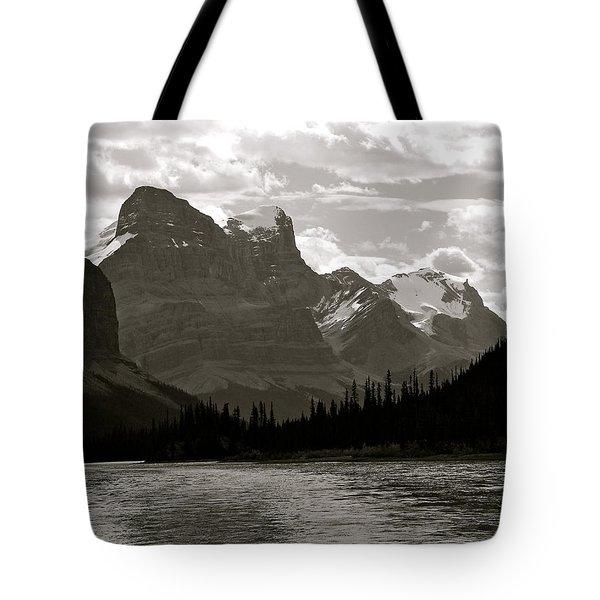 Towering Peaks Tote Bag