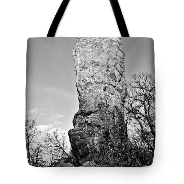 Towering Rock Tote Bag