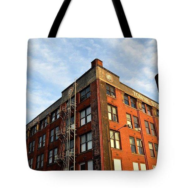 Towne Storage Building Tote Bag