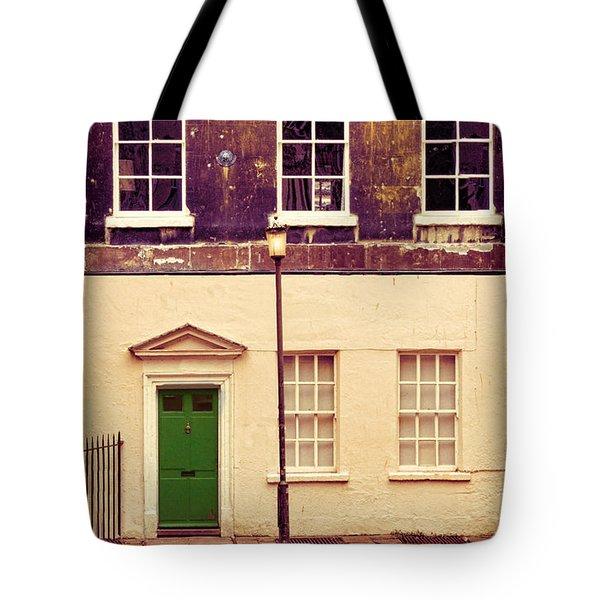 Townhouse Tote Bag by Jill Battaglia