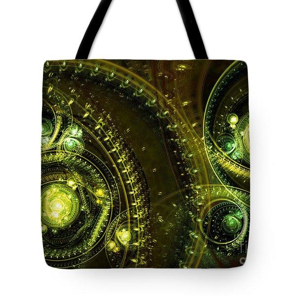 Toxic Dream Tote Bag by Martin Capek