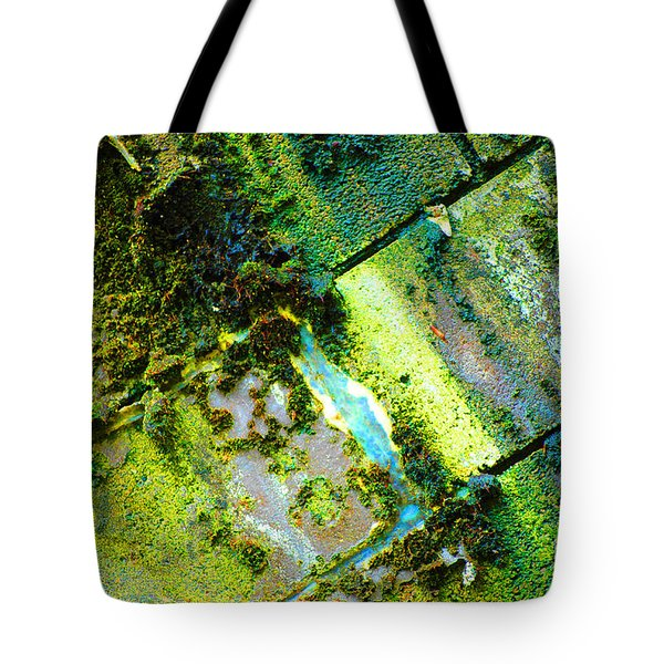 Tote Bag featuring the photograph Toxic Moss by Christiane Hellner-OBrien