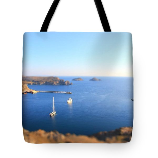 Toy Boats Tote Bag by Vicki Spindler