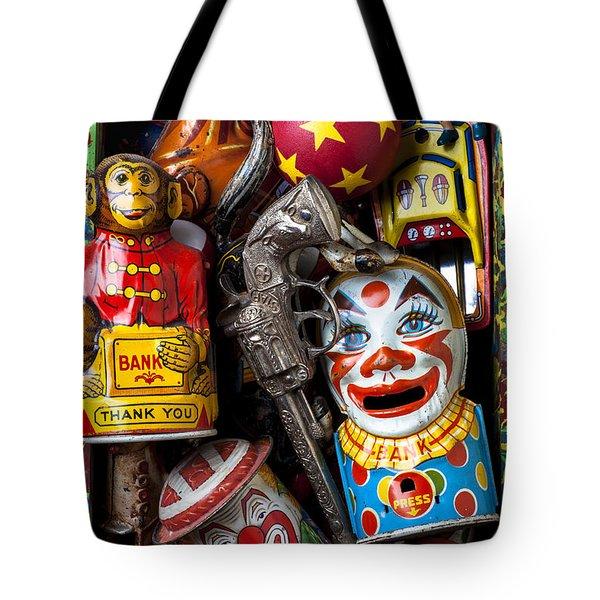 Toy Box Tote Bag