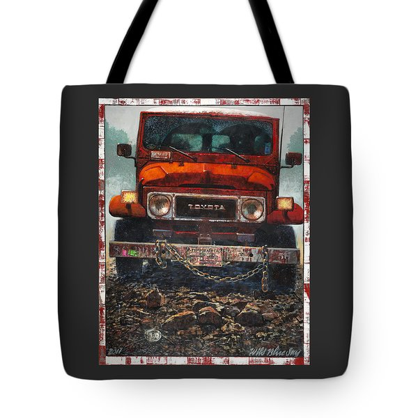 Toyota Tote Bag by Blue Sky