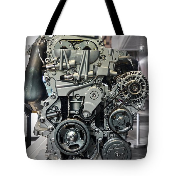 Toyota Engine Tote Bag