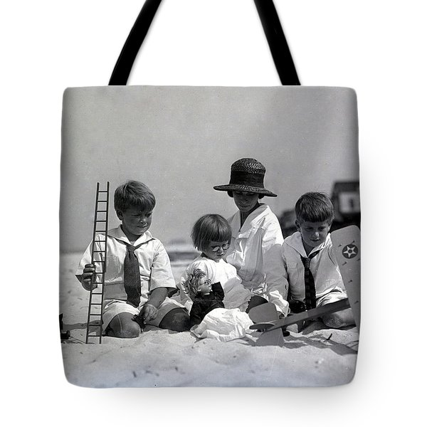 Toys On The Beach Tote Bag