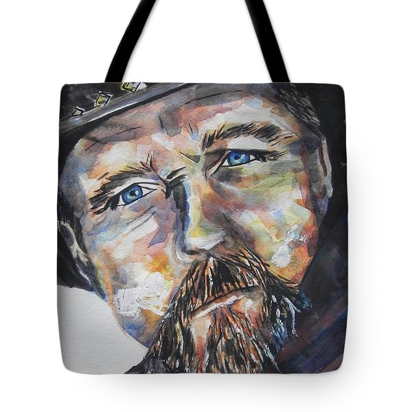 Trace Adkins..country Singer Tote Bag by Chrisann Ellis