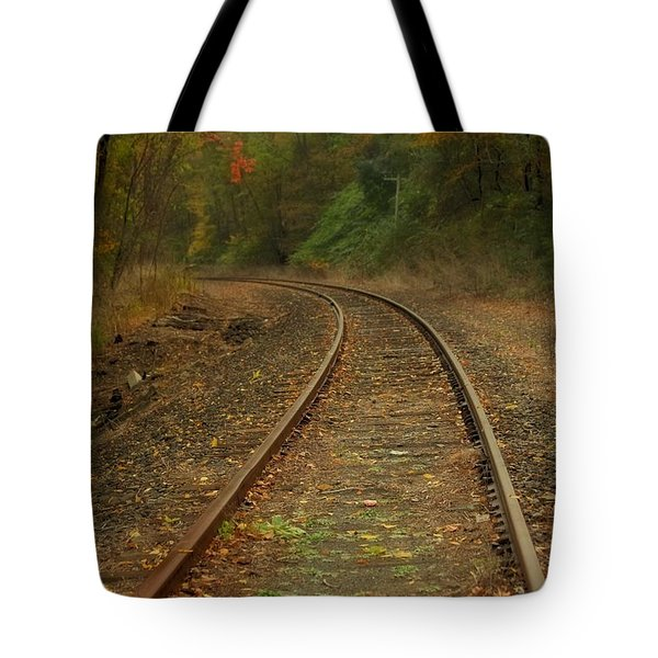 Tracking Thru The Woods Tote Bag