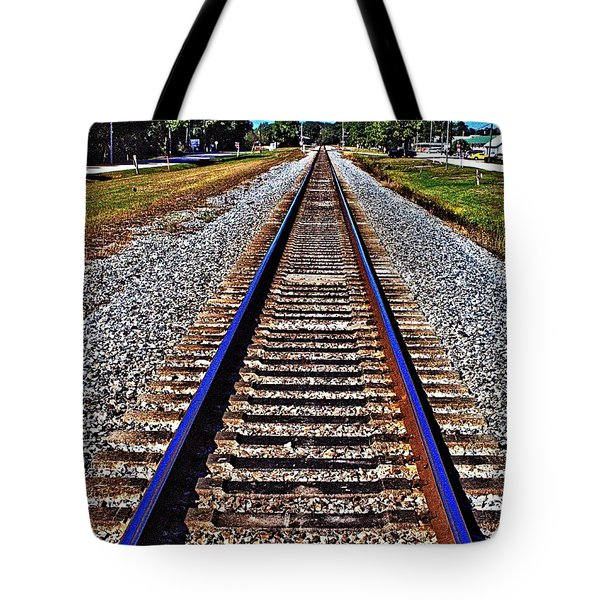 Tracks To Somewhere Tote Bag