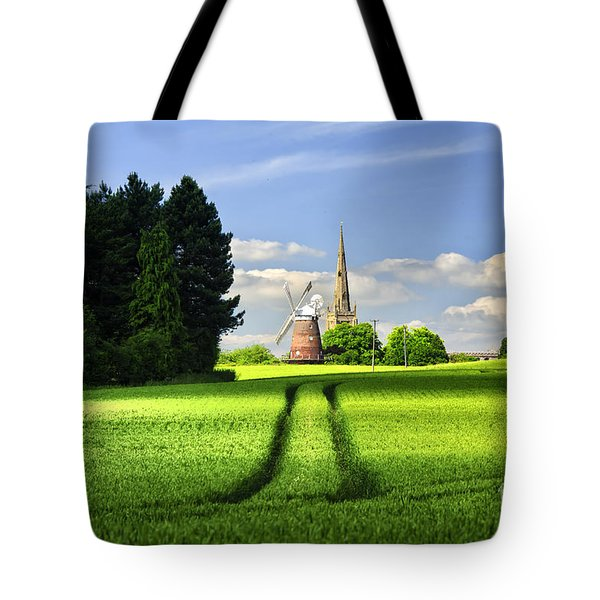 Tote Bag featuring the photograph Tracks To The Mill by Jack Torcello