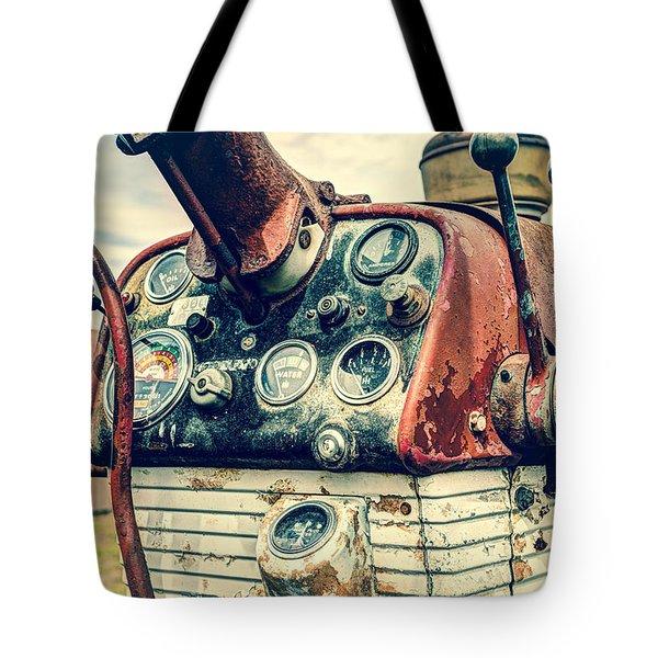 Tractor Dash - Farmall 560 Diesel Tote Bag by Gary Heller