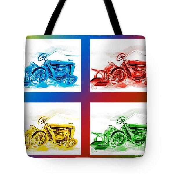 Tractor Mania IIi Tote Bag by Kip DeVore
