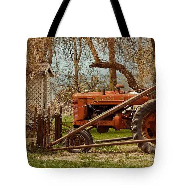 Tractor On Us 285 Tote Bag
