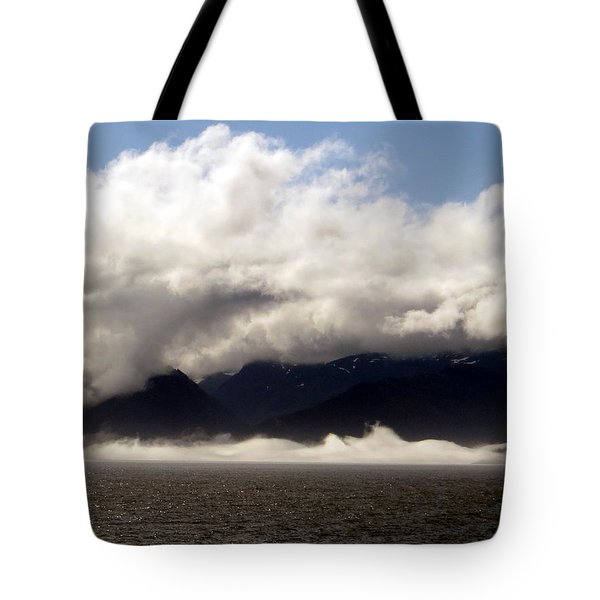 Tote Bag featuring the photograph Tracy Arm Fjord by Jennifer Wheatley Wolf