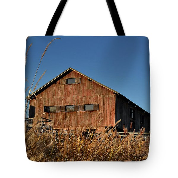 Traders Point Barn Tote Bag