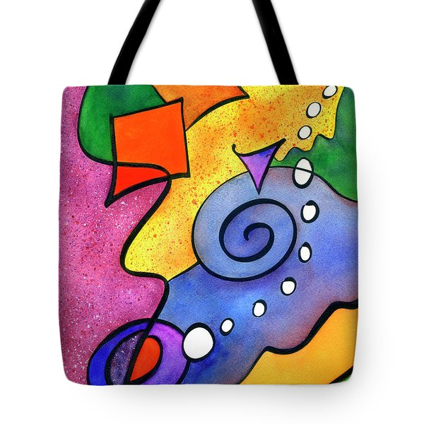 Tradewinds Tote Bag by Diane Thornton